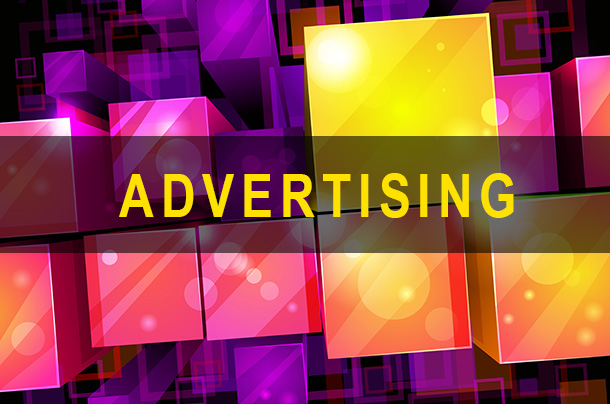 Abstract image to represent Advertising.